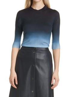Hugo Boss BOSS Feyah Dip Dye Wool Crewneck Sweater