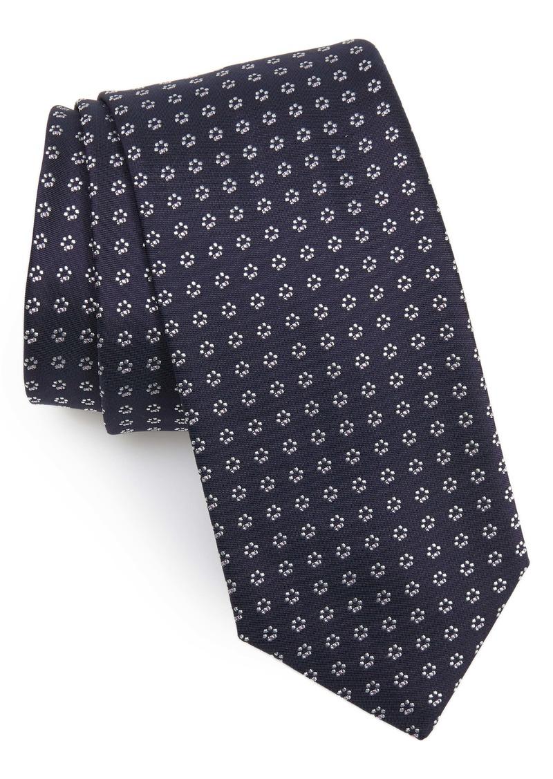 Hugo Boss BOSS Floral Silk Blend Tie