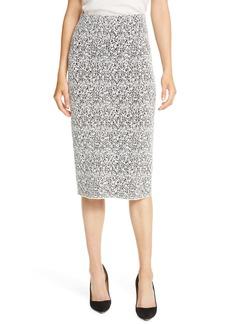 Hugo Boss BOSS Fucille Knit Midi Pencil Skirt