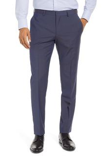 Hugo Boss BOSS Genesis Slim Fit Flat Front Wool Dress Pants