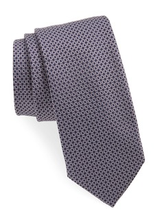 Hugo Boss BOSS Geometric Circle Silk Tie