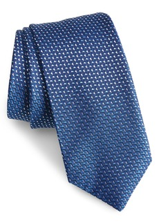 Hugo Boss BOSS Geometric Diamond Tie