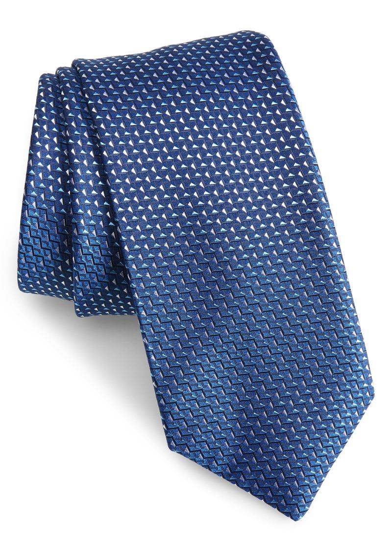 Hugo Boss BOSS Geometric Diamond Tie