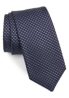 Hugo Boss BOSS Geometric Silk Blend Tie