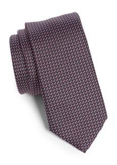 Hugo Boss BOSS Geometric Silk Tie