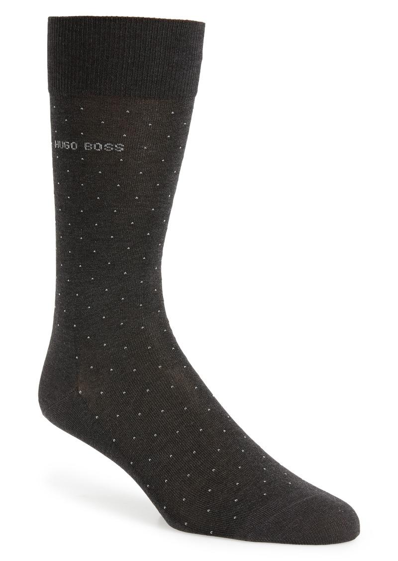 Hugo Boss BOSS George Dot Dress Socks