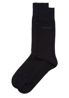 Hugo Boss BOSS George Micro Dot Dress Socks