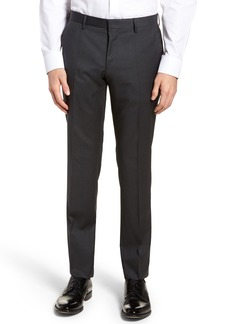 Hugo Boss BOSS Gibson CYL Flat Front Solid Wool Trousers