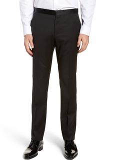 Hugo Boss BOSS Gilan CYL Flat Front Wool Trousers