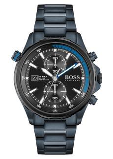 Hugo Boss BOSS Globetrotter Chronograph Bracelet Watch, 46mm