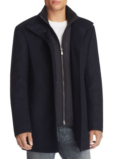 Hugo Boss BOSS Green Coxtan Layered Wool Blend Coat