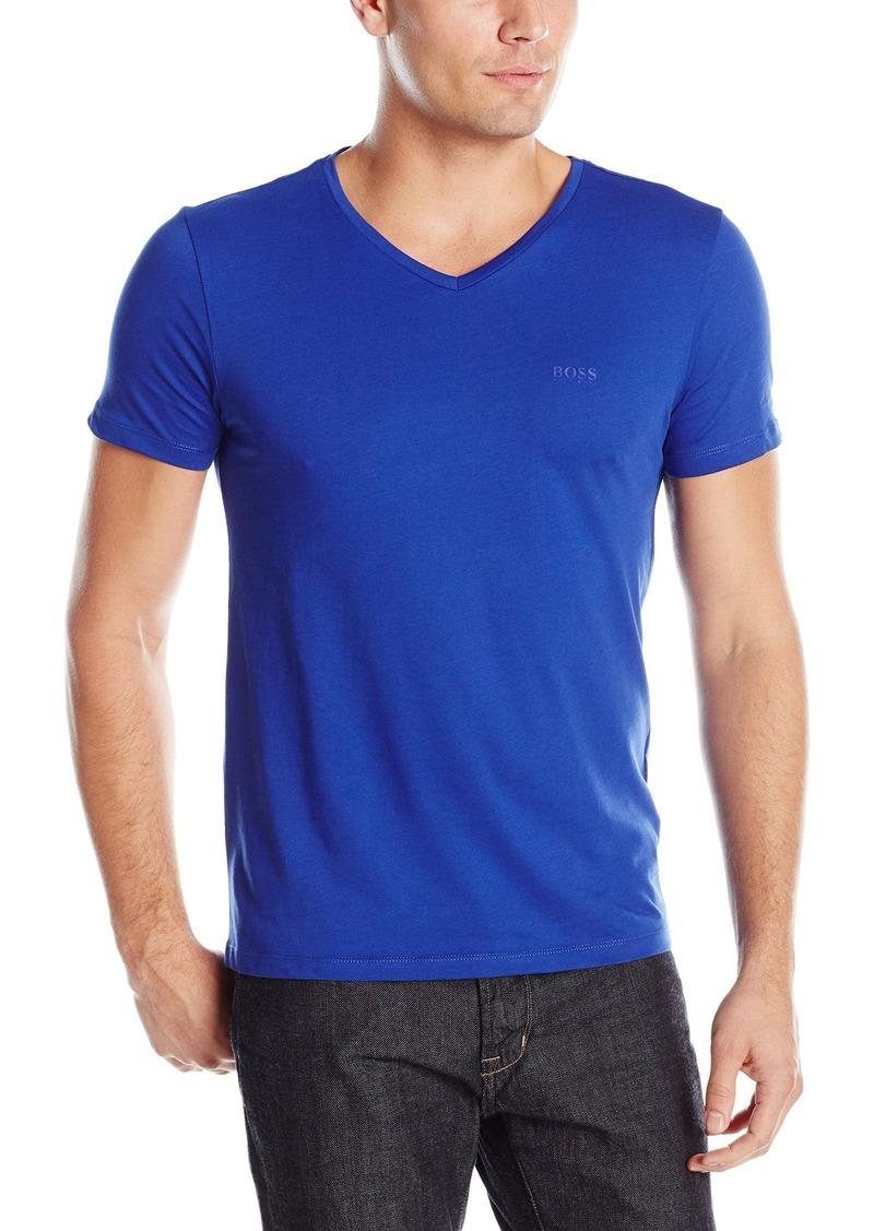 b6b6b2fb4 BOSS Green Men's C-Canistro Slim Fit Single Jersey V-Neck T-Shirt. Hugo Boss