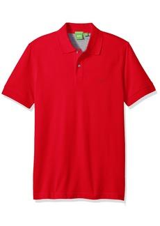 Hugo Boss BOSS Green Men's C-Firenze Regular Fit Knitted Pique Polo Medium red XXL
