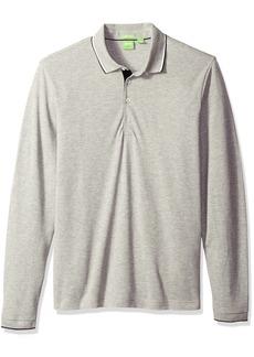 Hugo Boss BOSS Green Men's C-Tivoli Classic Fine Pique Long Sleeve Polo Shirt