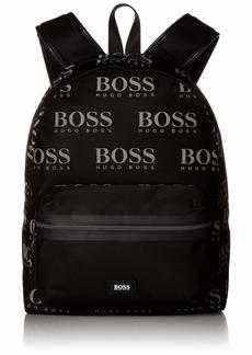 Hugo Boss BOSS Green Men's Iconic Nylon Logo Backpack black