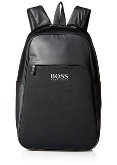 HUGO BOSS Green Men's Lightec Knitted Backpack  ONE Size