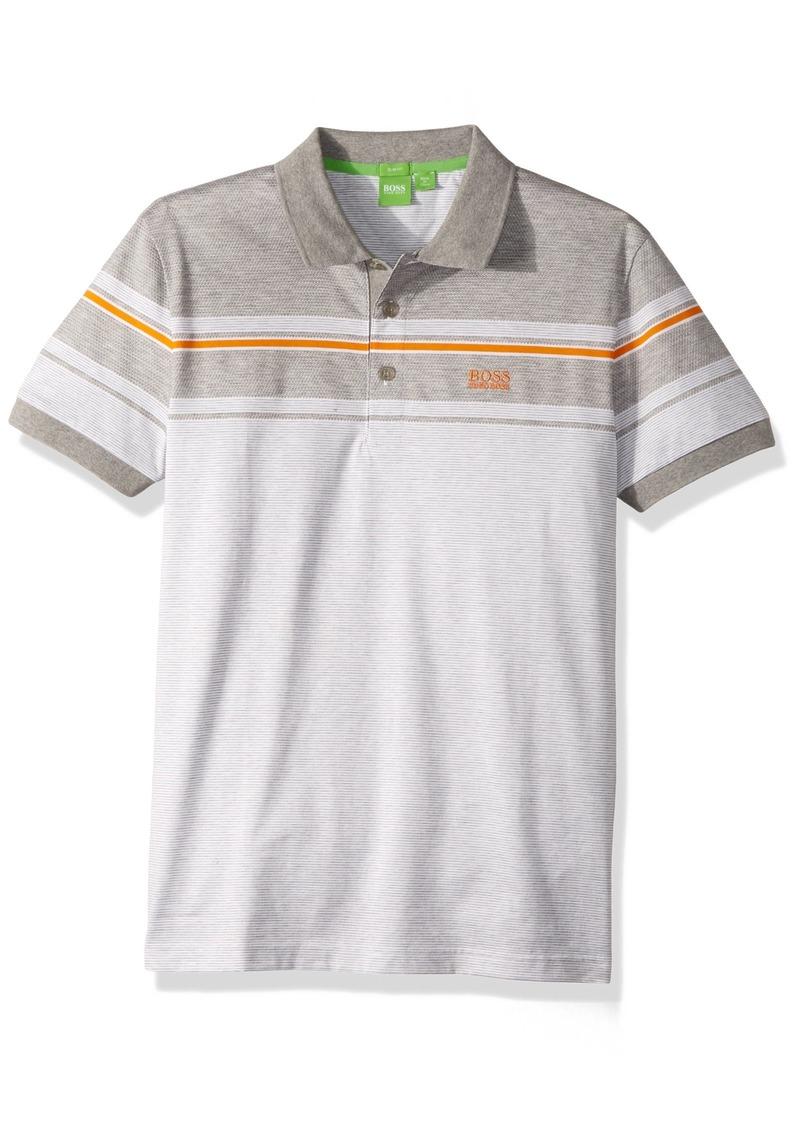 c7a3d20e5 Hugo Boss BOSS Green Men s Paule 5 Short Sleeve Polo Shirt XXL