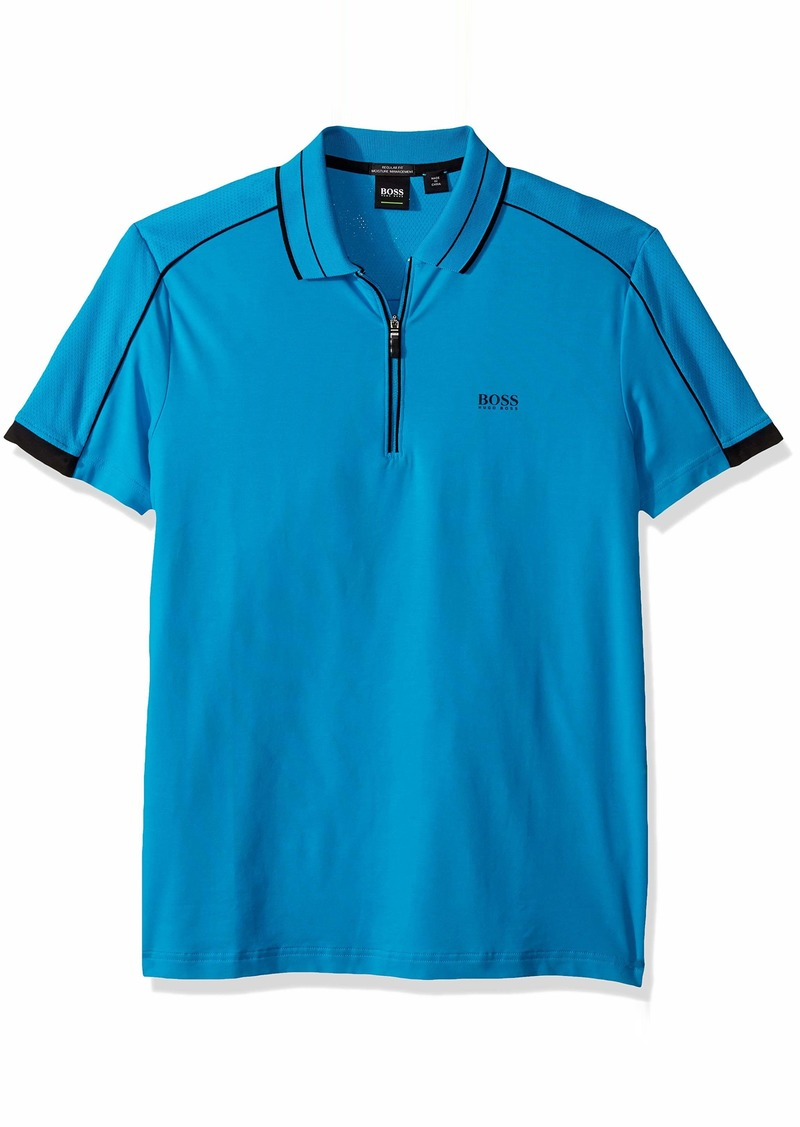 Hugo Boss BOSS Green Men's Phillix Short Sleeve Polo Shirt  S