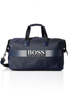 Hugo Boss BOSS Green Men's Pixel Nylon Holdall Weekender Bag