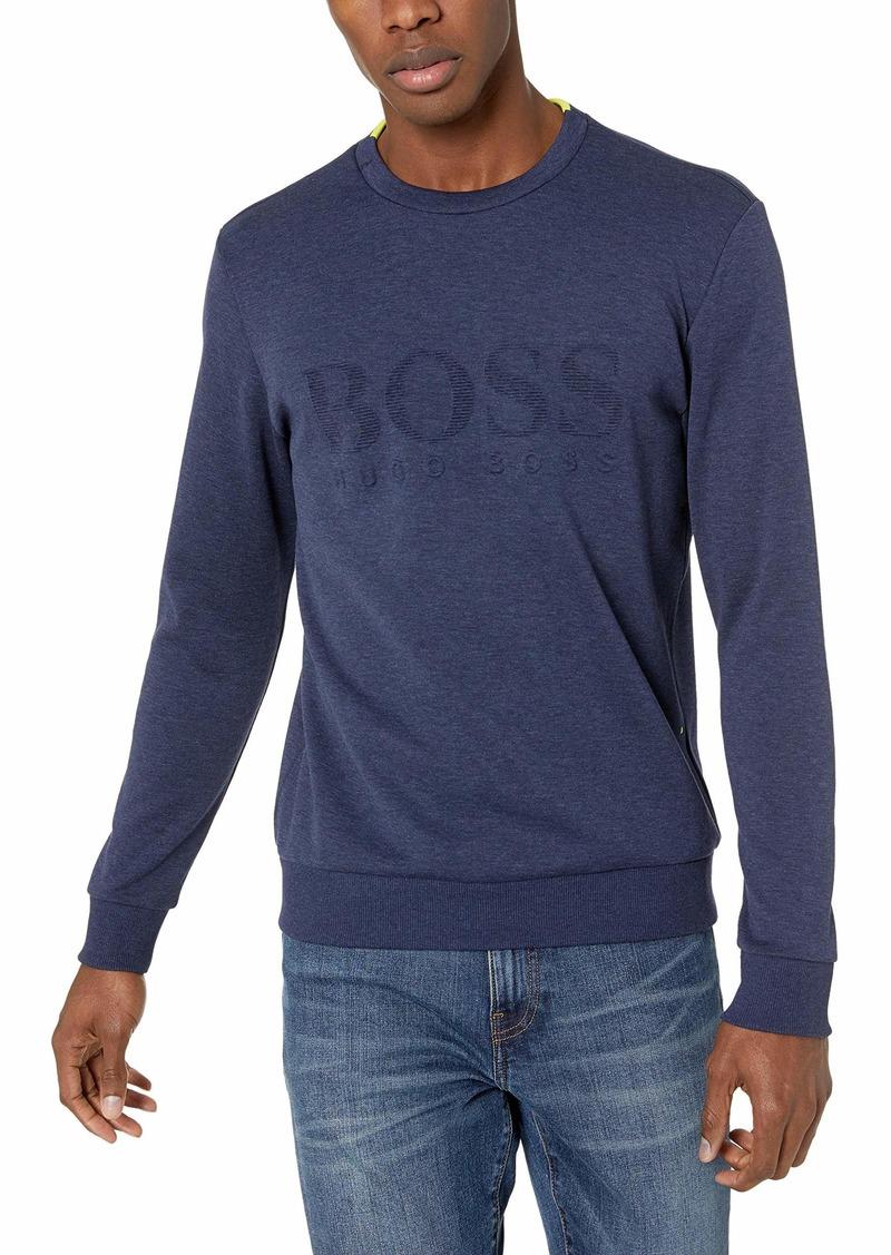 Hugo Boss BOSS Green Men's Salbo Long Sleeve Crewneck Sweatshirt  XXL
