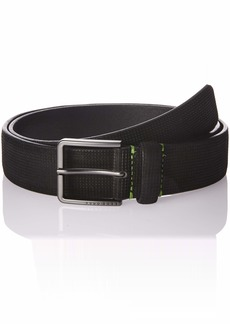 Hugo Boss BOSS Green Men's Theres Nubuck Leather Belt  85 EU