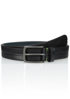 Hugo Boss BOSS Green Men's Timothy Logo Embossed Leather Belt