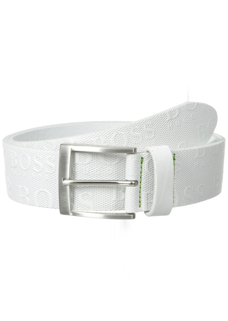 Hugo Boss Torialo Belt White