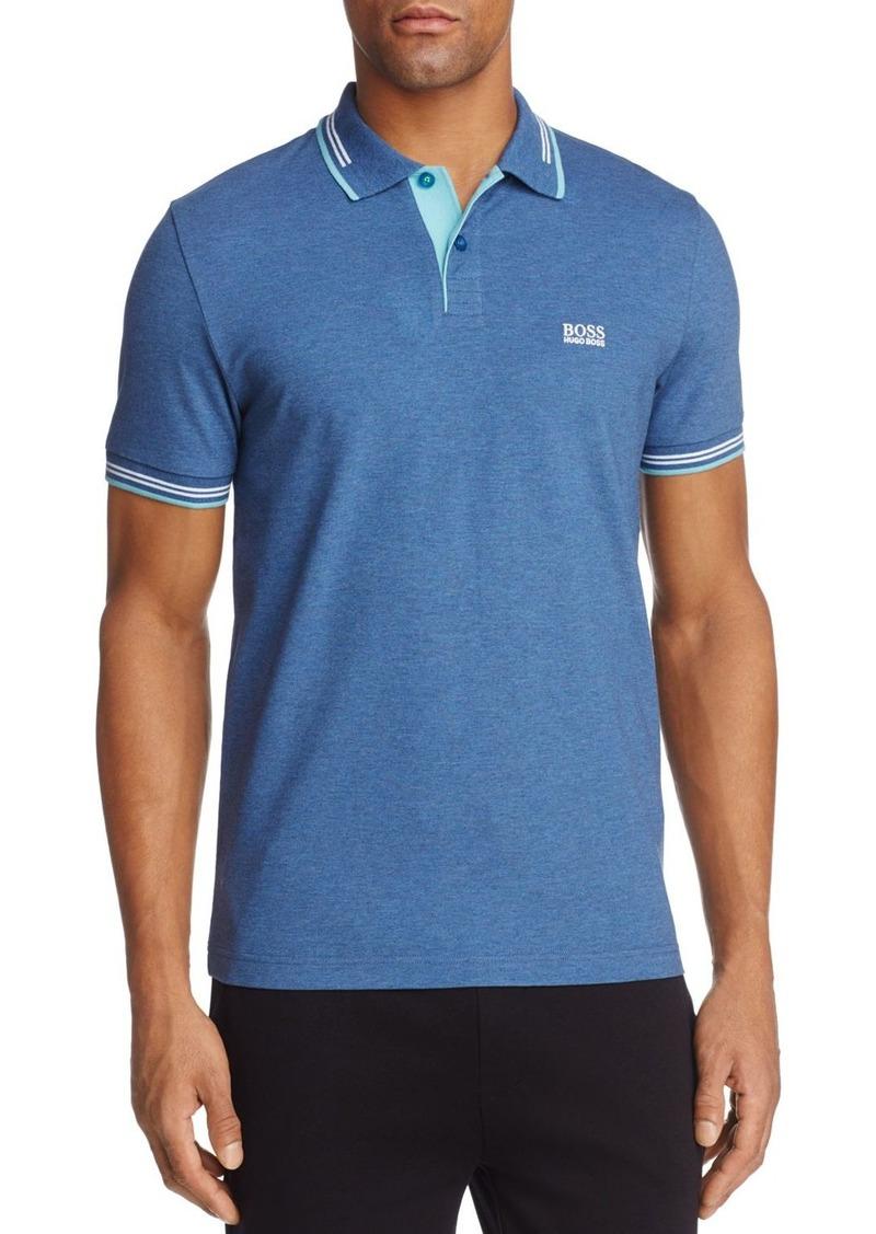 2f4792bb Hugo Boss BOSS Green Paul Piqu  Short Sleeve Polo Shirt