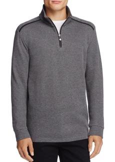 Hugo Boss BOSS Green Piceno Half-Zip Sweatshirt