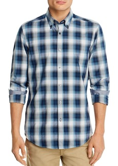 Hugo Boss BOSS Heather Check Regular Fit Button-Down Shirt