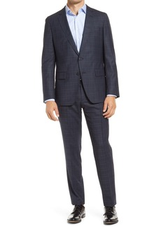 Hugo Boss BOSS Herrel/Grace Classic Fit Stretch Check Wool Suit