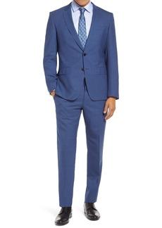 Hugo Boss BOSS Huge/Genius Slim Fit Houndstooth Wool Suit