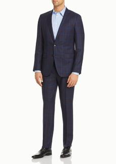 Hugo Boss BOSS Huge/Genius Plaid Slim Fit Suit