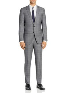 Hugo Boss BOSS Huge/Genius Tonal Windowpane Plaid Slim Fit Suit