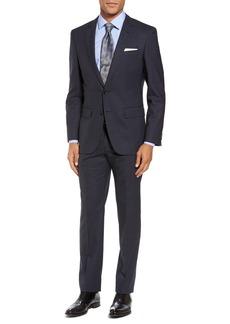 Hugo Boss BOSS Huge/Genius Trim Fit Check Wool Suit