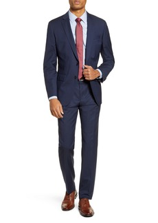 Hugo Boss BOSS Huge/Genius Trim Fit Check Wool Suit