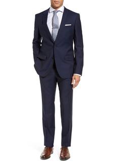 Hugo Boss BOSS Huge/Genius Trim Fit Navy Wool Suit