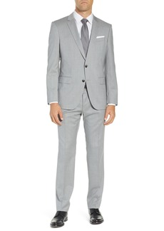 Hugo Boss BOSS Huge/Genius Trim Fit Solid Wool Suit