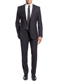 Hugo Boss BOSS 'Huge/Genius' Trim Fit Solid Wool Suit