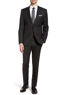 Hugo Boss BOSS 'Huge/Genius' Trim Fit Solid Wool Suit
