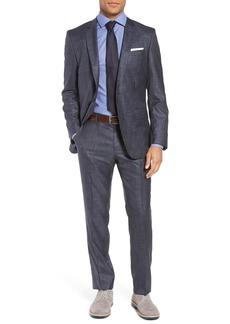 Hugo Boss BOSS Huge/Genius Trim Fit Wool & Silk Suit