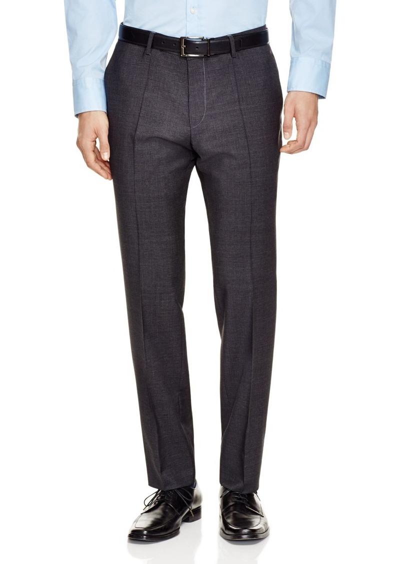 BOSS HUGO BOSS Birdseye Slim Fit Trousers