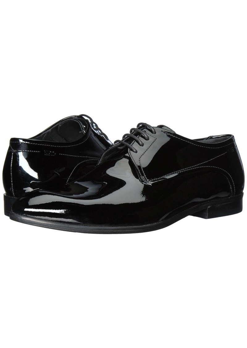 c3b0016bc0f58 Hugo Boss C-Dresspat Patent Leather Lace Up Derby by HUGO | Shoes