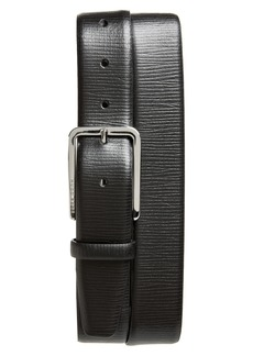 Hugo Boss BOSS Calis Embossed Leather Belt