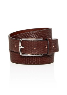 BOSS Hugo Boss Chuck-P Embossed Leather Belt