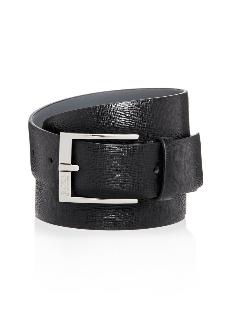 BOSS Hugo Boss Men's Clo 3.0 Embossed Leather Belt