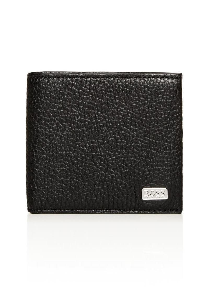BOSS Hugo Boss Crosstown Leather Bi-Fold Wallet