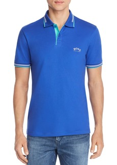 Hugo Boss BOSS Curved-Logo Slim Fit Polo Shirt