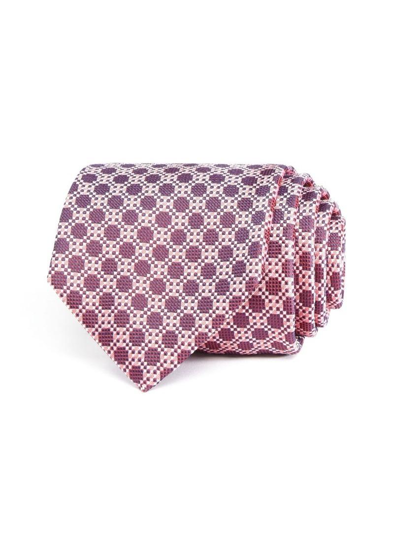BOSS HUGO BOSS Geometric Large Dot Classic Tie