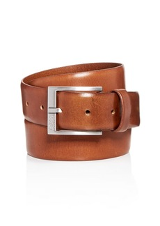BOSS Hugo Boss Gerron Replace Distressed Leather Belt
